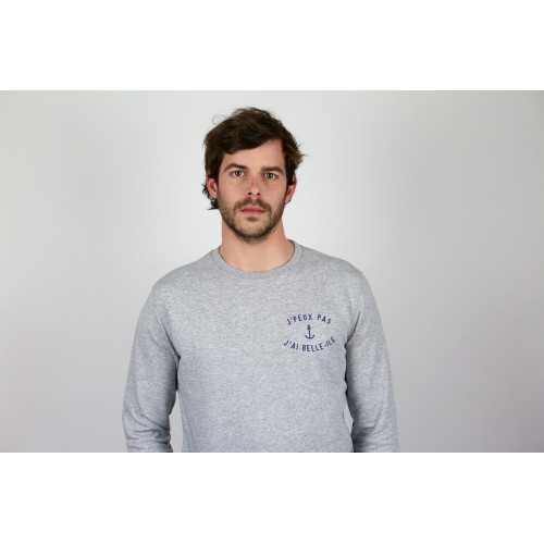 Sweat gris mixte