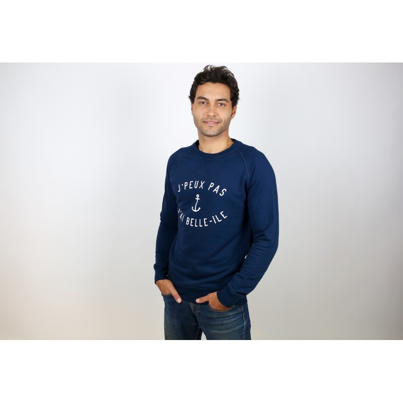 Sweat navy mixte